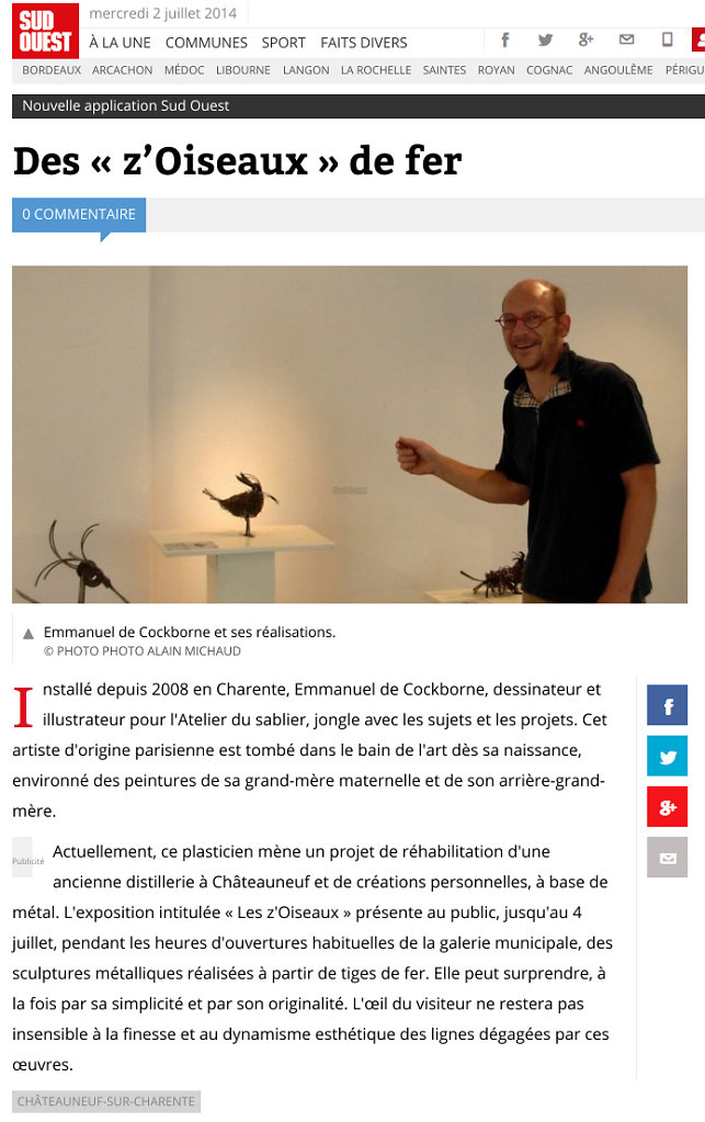 Sud-Ouest 2014