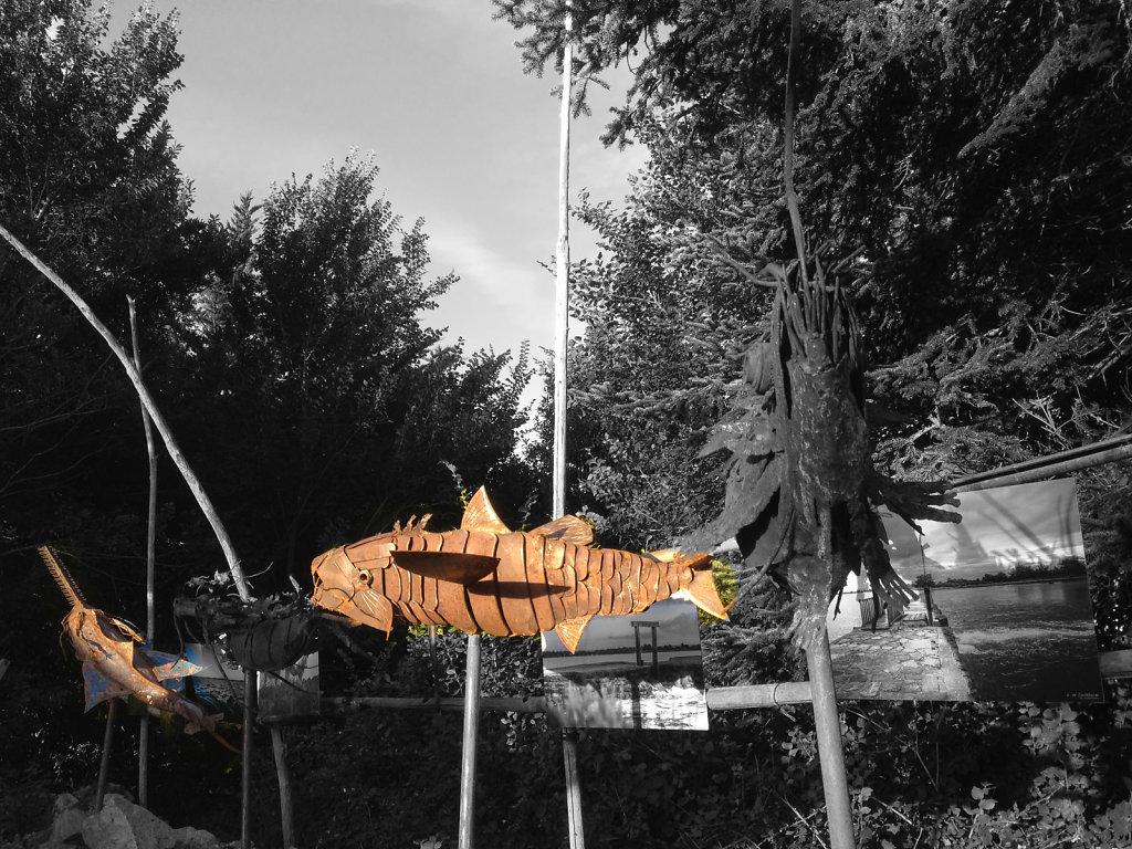 La Fontaine, Ile d'Arz (56) aout 2015