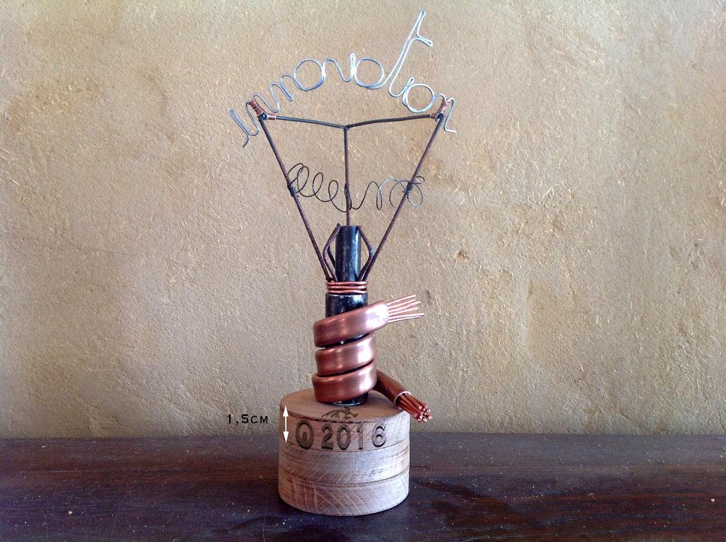 trophée innovation X 6 exemplaires