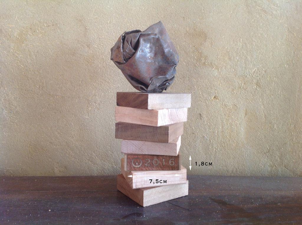trophée valorisation X 6 exemplaires