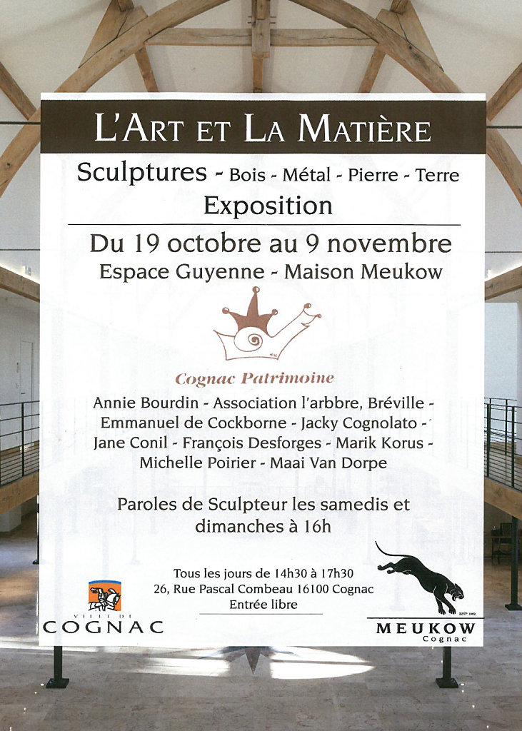Affiche expo Meukow 2017