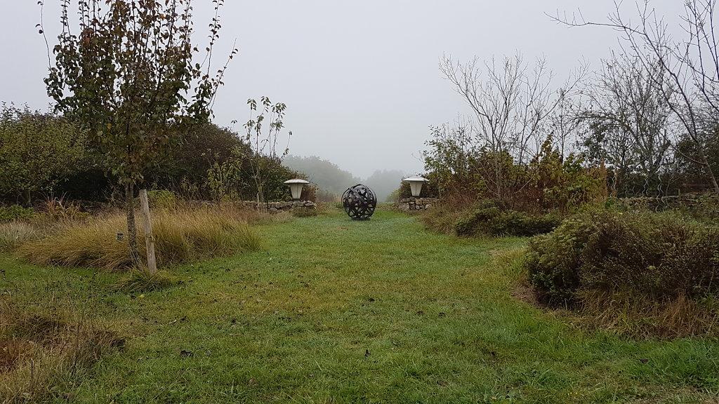 Hegoak entre jardin et vignes