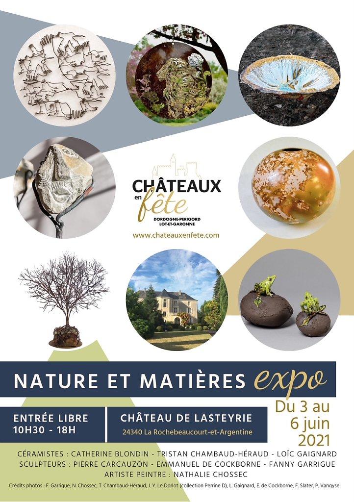 2021_expo au château de Lasteyrie (24)